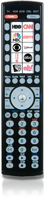 10 sticker icon remote control