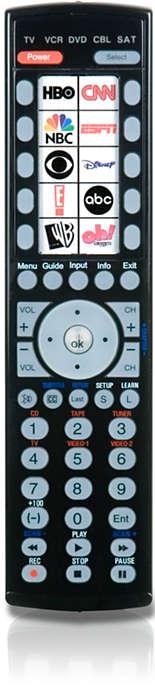 10 sticker icon remote control