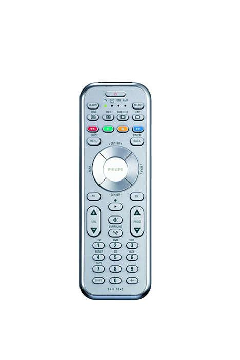 Controlo do entretenimento em casa