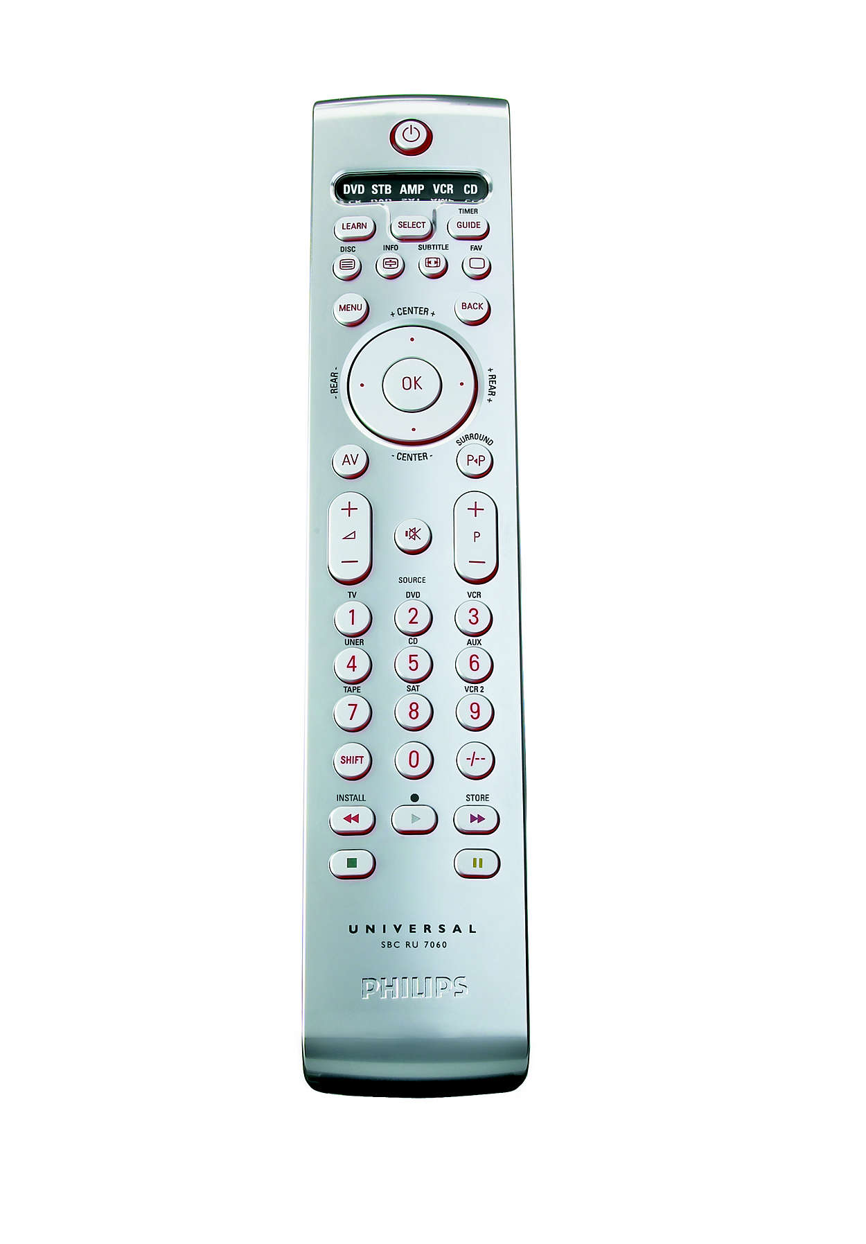 Télécommande pour tous vos équipements audio/vidéo