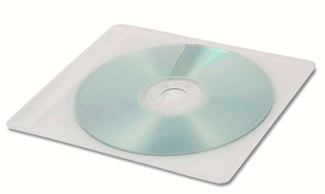 CD & DVD protective sleeves
