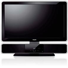 STS8001/00  SoundBar and TV tabletop stand