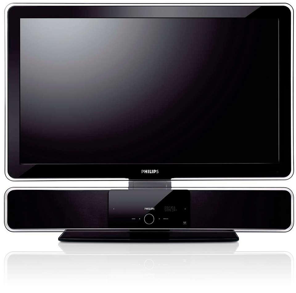 사운드바 및 평면 TV 전용