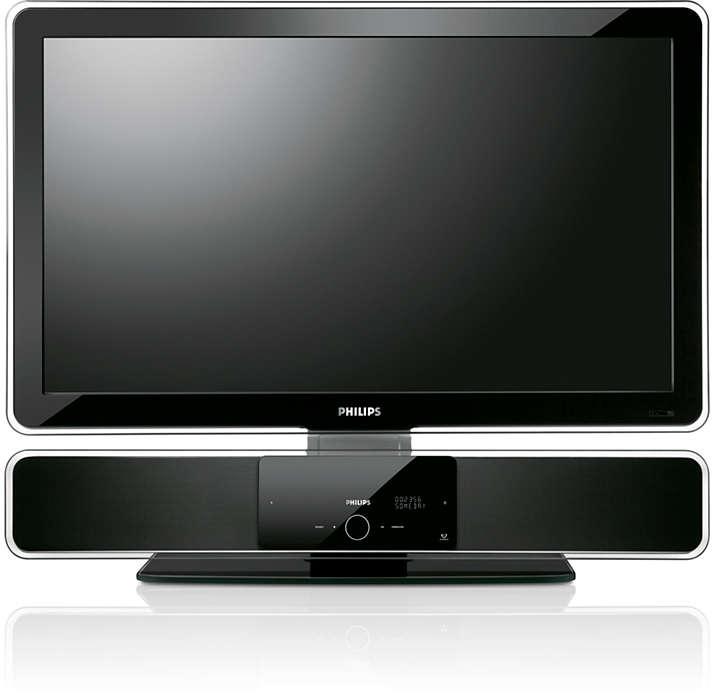 """Speciálně pro 81cm (32"""") zařízení SoundBar a TV splochou obr."""
