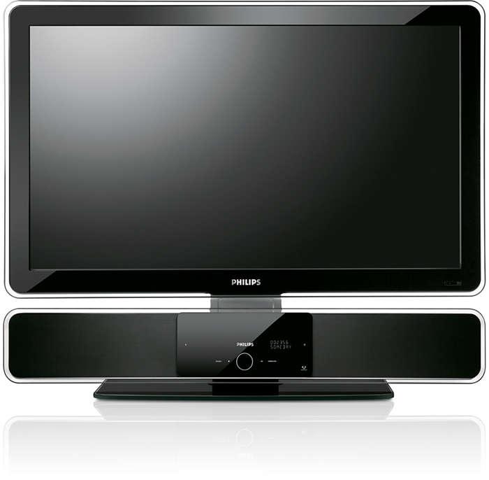 """Conçu pour votre système SoundBar et FlatTV de 81cm (32"""")"""