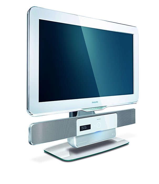 Diseñado para tu SoundBar y para los televisores Aurea 2009