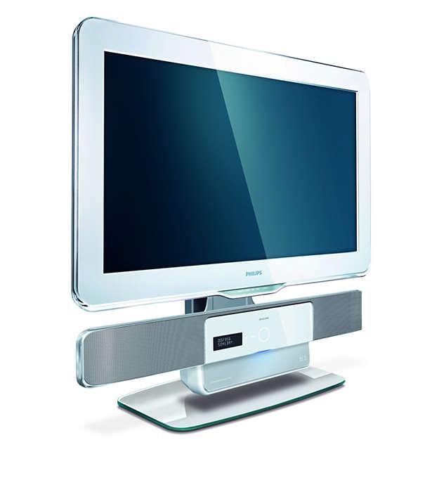 Progettato per il tuo sistema SoundBar e TV Aura 2009