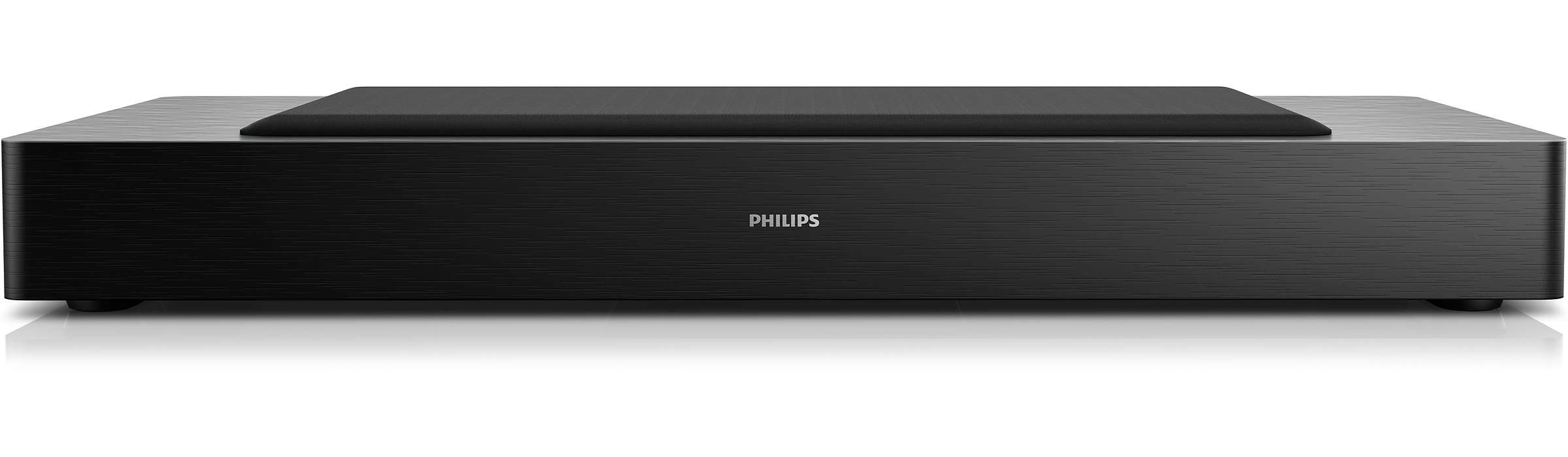 Intensifique os graves do seu televisor Philips