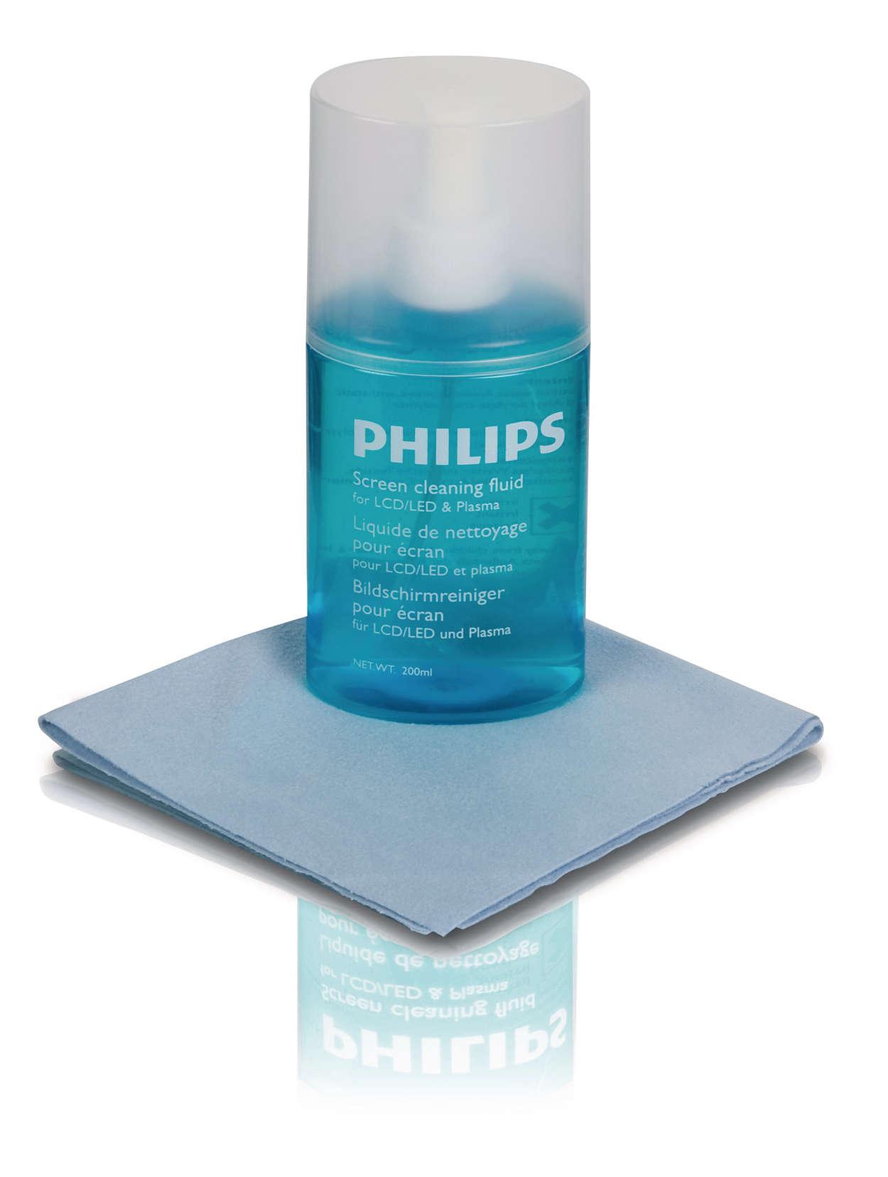 Flatscreens veilig schoonmaken
