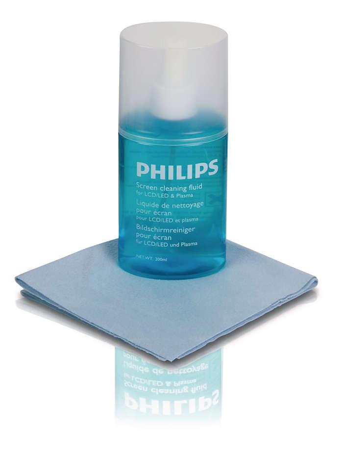 Bezpieczne czyszczenie płaskich ekranów