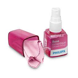 Nettoyant pour smartphone parfumé