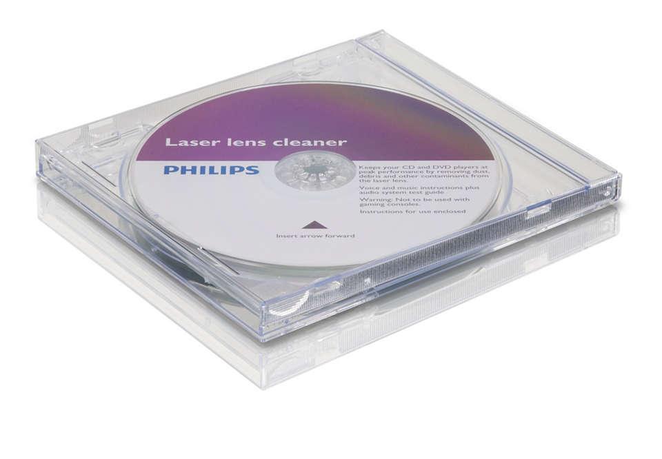 Nettoie et protège votre lecteur de CD/DVD
