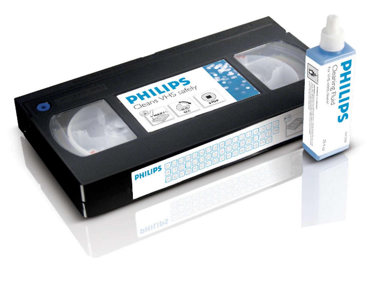 清潔與保護你的 VCR