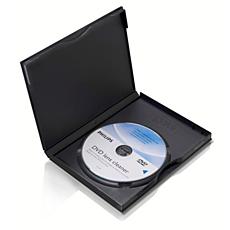 SVC2520/10  Čistiace zariadenie na DVD optiku