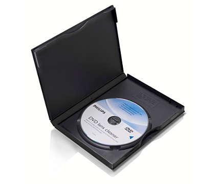 ทำความสะอาดและปกป้องเครื่องเล่น DVD ของคุณ
