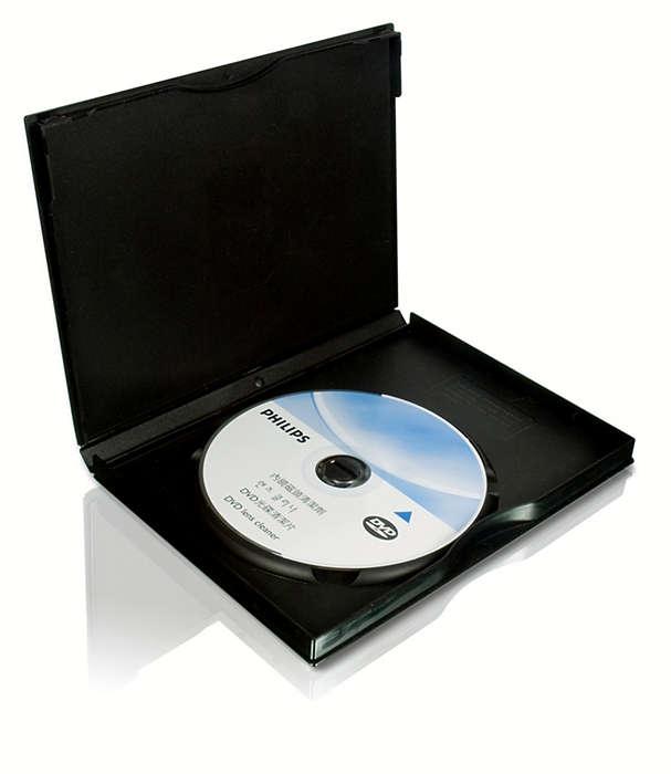 清潔並保護您的 DVD 播放機