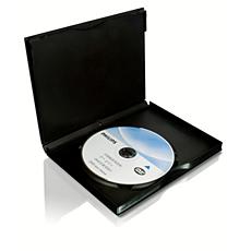SVC2520/97  DVD 鏡頭清潔用品