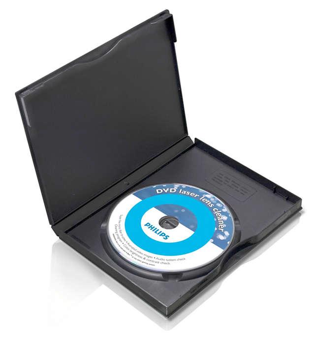 清潔與保護你的 DVD 機
