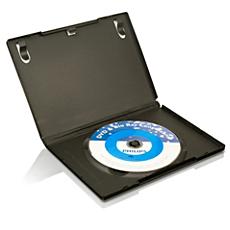 SVC2523W/10  Čistil. medij za lečo pred. DVD/Blu ray