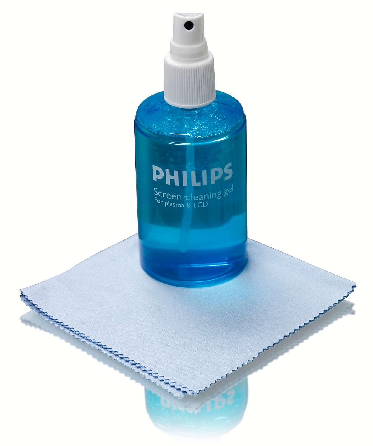 Почиствайте плазмения си или LCD телевизор