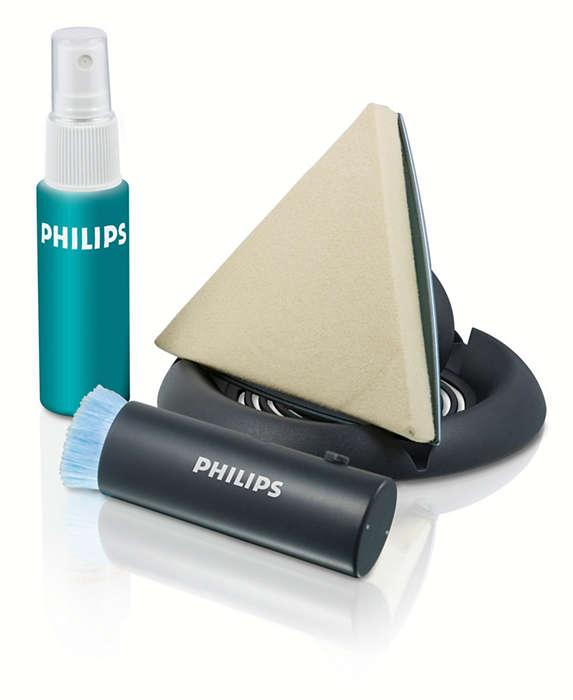Pour un nettoyage en toute sécurité des écrans LCD/Plasma