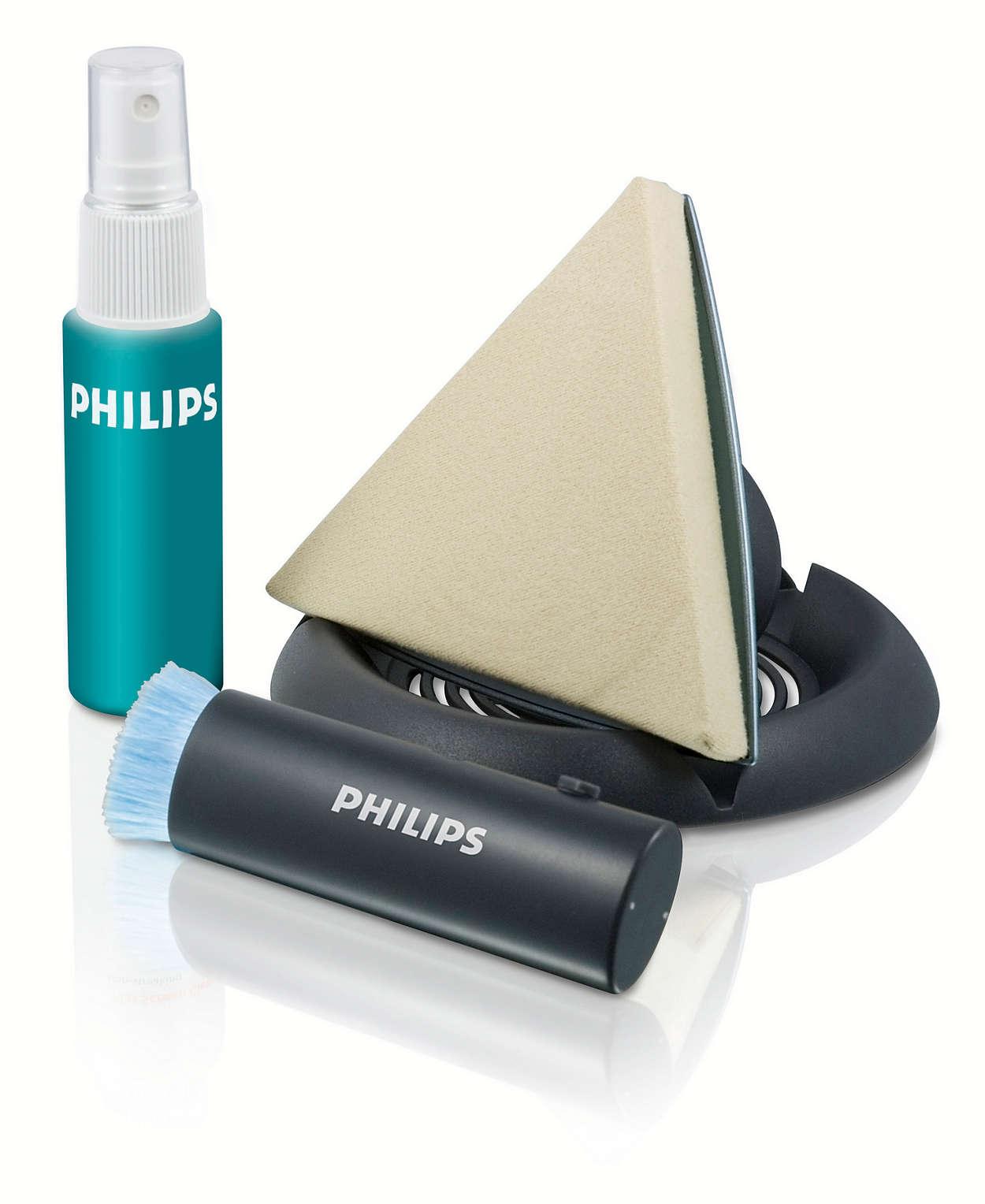 Rengjør trygt plasma-/LCD-skjermer