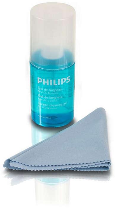 Limpia tu LCD y televisor plasma