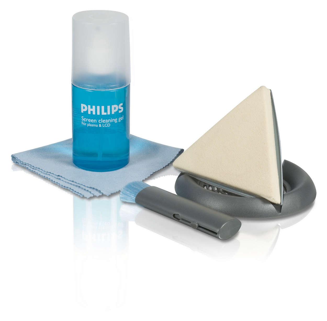 Bezpečné čištění plazmových/LCD obrazovek