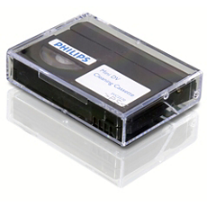 SVC2570/10  Casete de limpieza de mini DVD