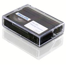 SVC2570/10 -    Cassette de nettoyage mini DV