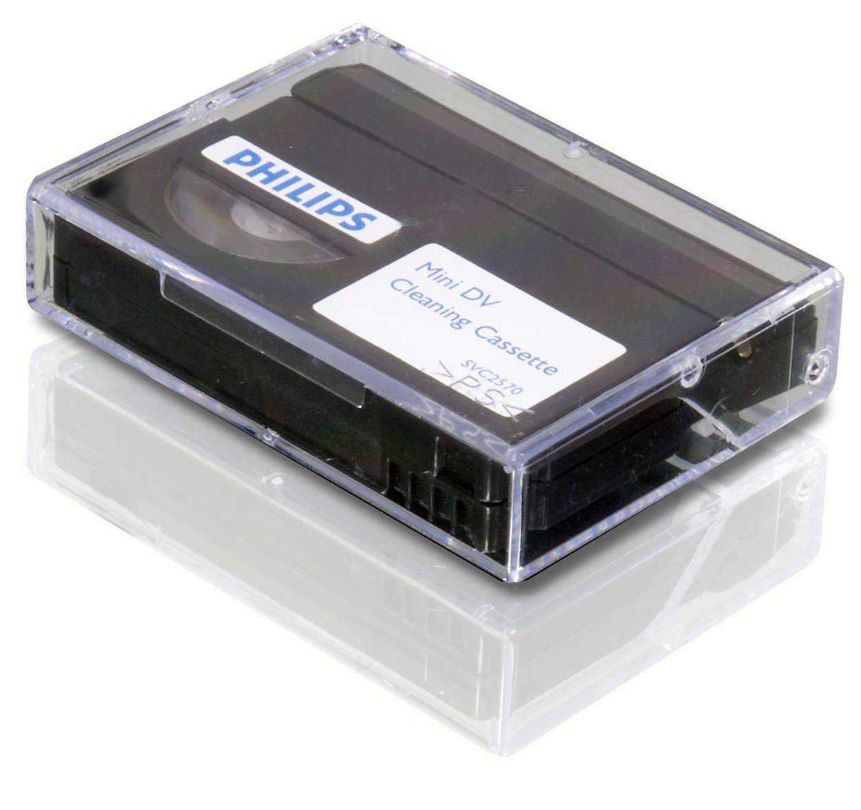 Pulisci la videocamera mini DV