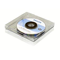 SVC2580/10  Limpiador de lente de mini DVD