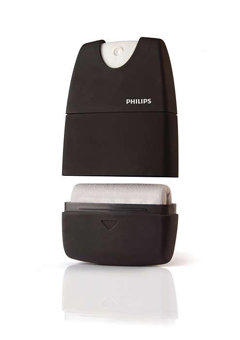 Een brandschoon touchscreen
