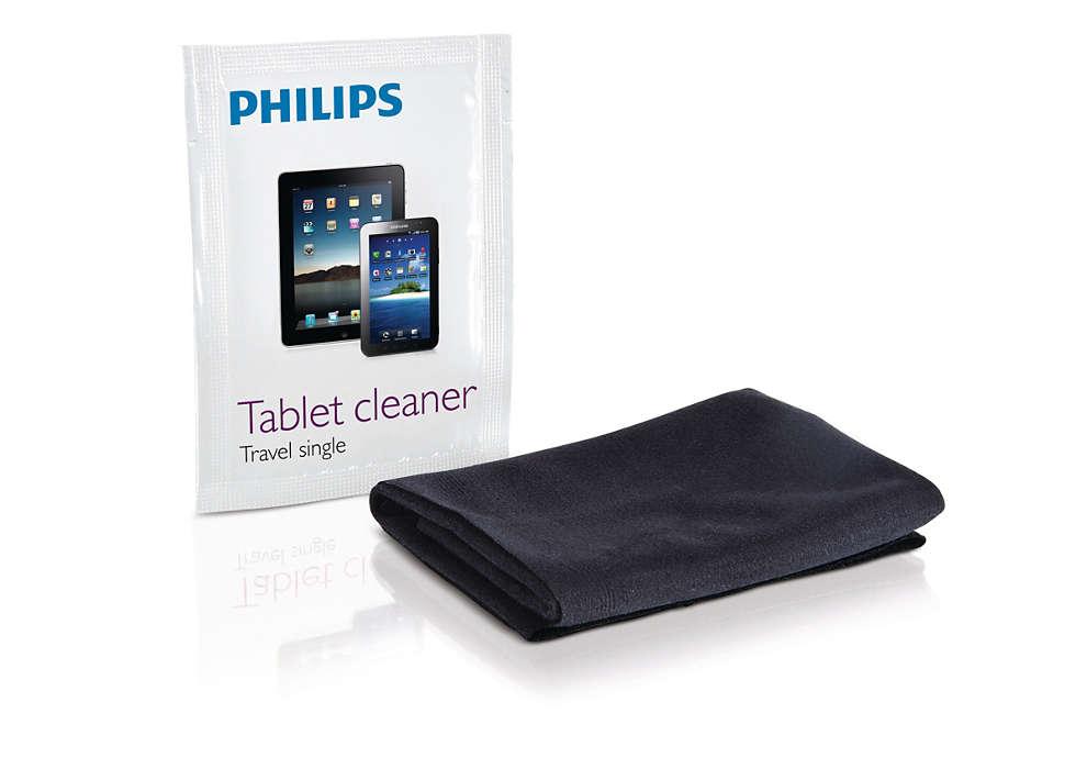 Наслаждавайте се на безупречно чист сензорен екран
