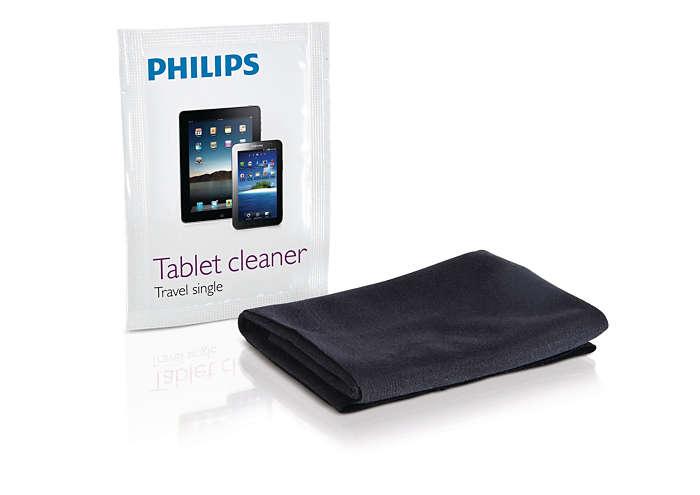 Enjoy a spotless touchscreen