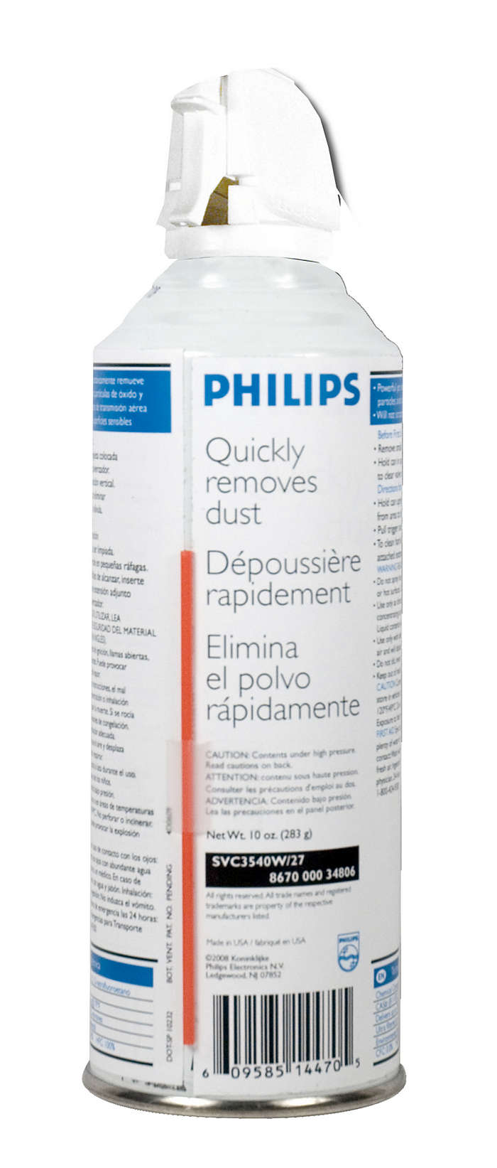 Quickly and safely removes dust