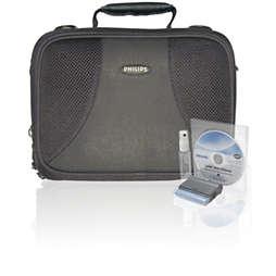 Bolsa para DVD portátil