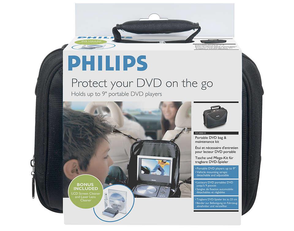 Väska till bärbar DVD spelare SVC4000W10 | Philips