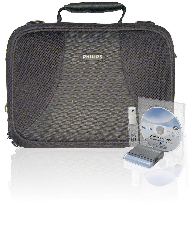 Schutz für Ihren DVD-Player unterwegs