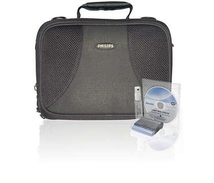 Beskytt DVD-spilleren mens du er på farten