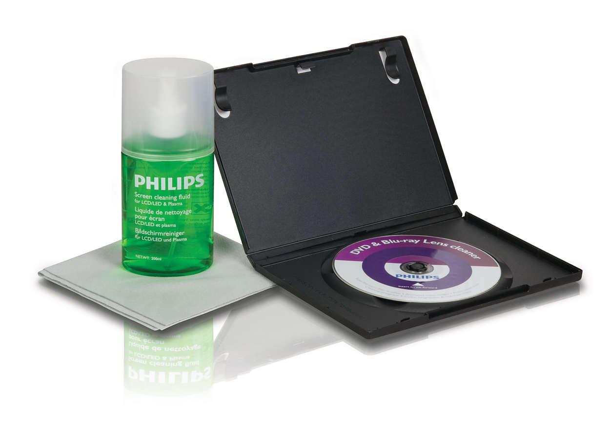 A melhor solução para limpar e proteger