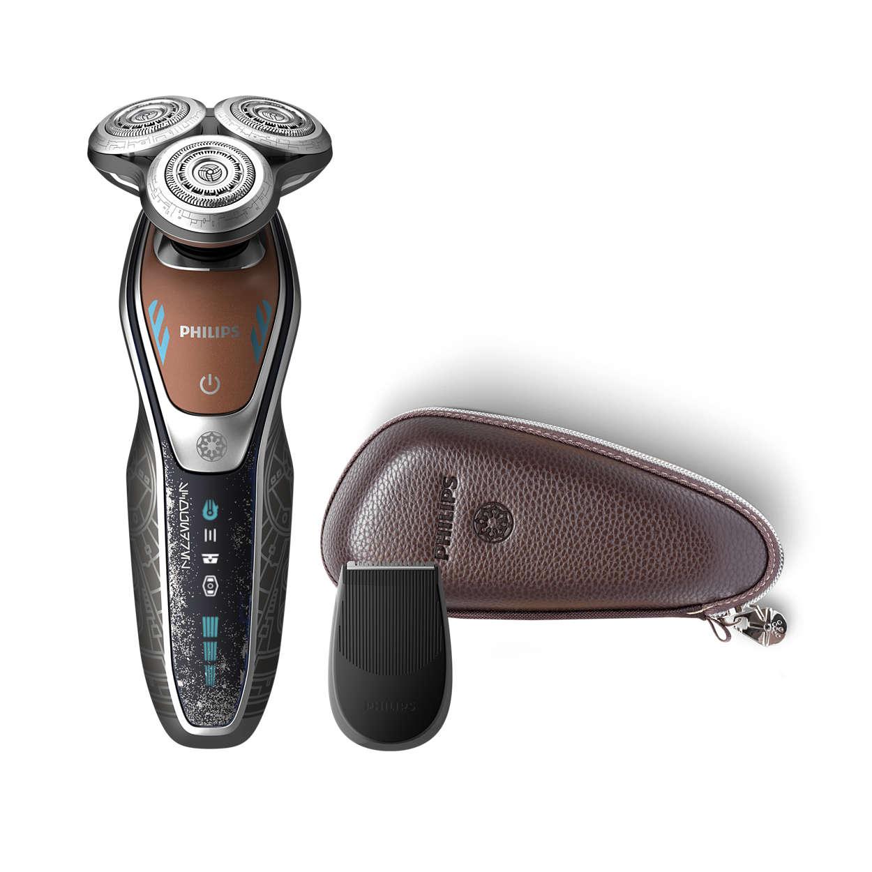 功能强大的剃须,可带来出色的舒适贴面效果