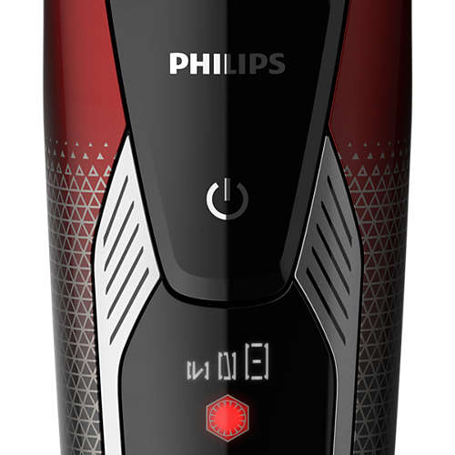 Wet and dry electric shaver