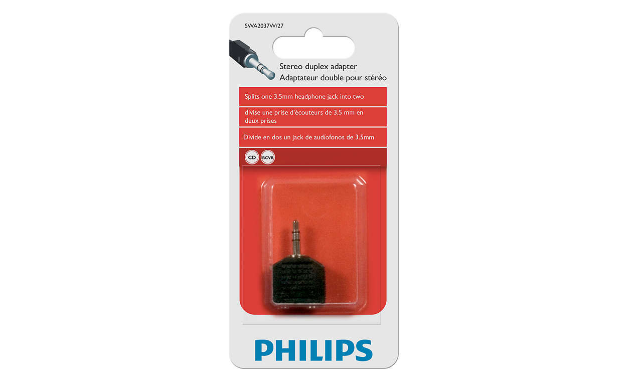 Audio Adapter Swa2037w 27 Philips Cell Phone Headphone Jack Wiring Ensure A Reliable Connection