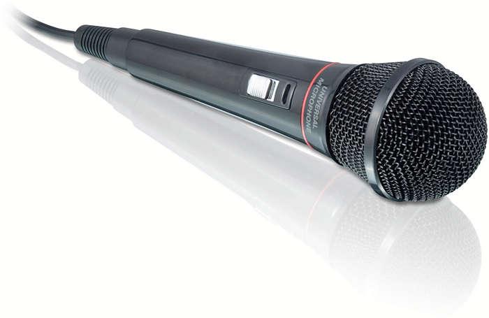 Ideal para karaoke