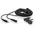 Extensión del cable para audífonos