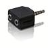 Adapter stereo Y
