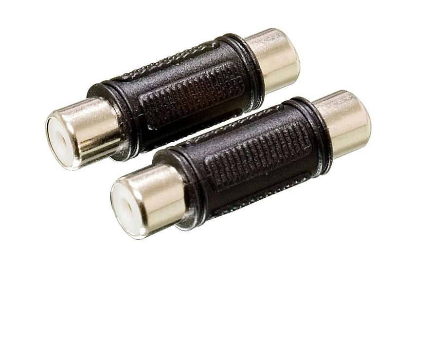 Garantiza la conexión de audio fiable