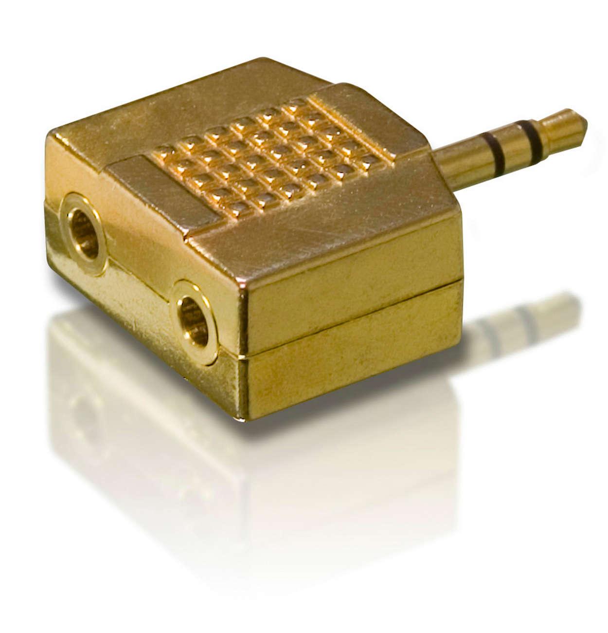 Geniet van superieur geluid