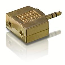 SWA3551/10 -    Adaptador estéreo Y